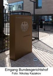 Bild Eingang BGH