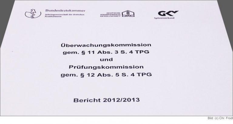 Bericht 2012/2013 Überwachungskommission und Prüfungskommission TPG