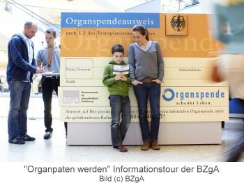 Bild zur Organpaten-Infotour