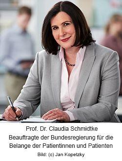 Prof. Dr. Claudia Schmidtke, Patientenbeauftragte der Bundesregierung